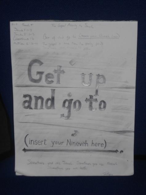 Get Up. Jonah 5