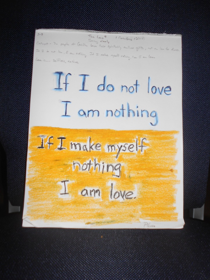 Love is..., True Love 4, 1 Corinthians 13